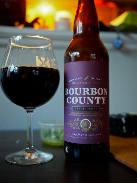 Goose Island Bourbon County Brand Stout - Bramble Rye