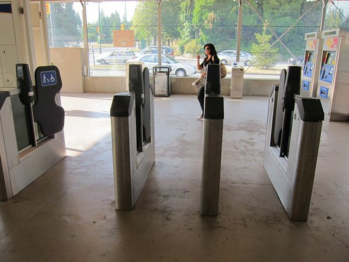 Faregates at King Edward