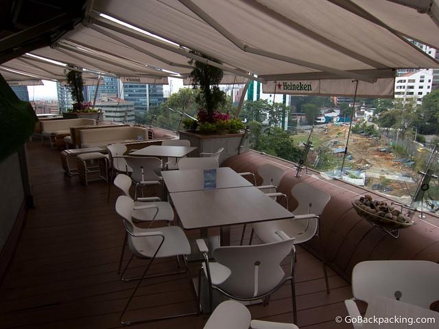 Delaire Sky Lounge