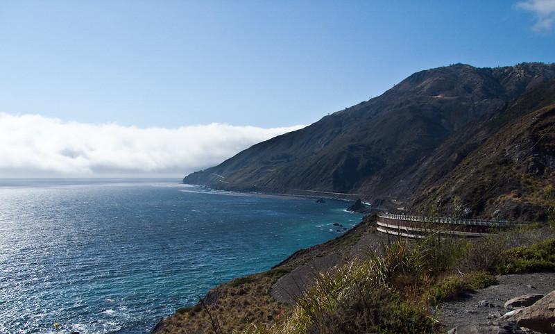 Big Sur of California coastline