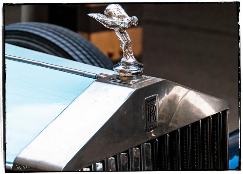 Romney Ryan Rolls Royce Hood