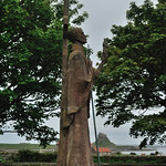 Lindisfarne statue 2