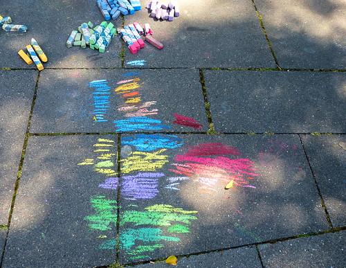 Geldern Straßenmalerei 2012