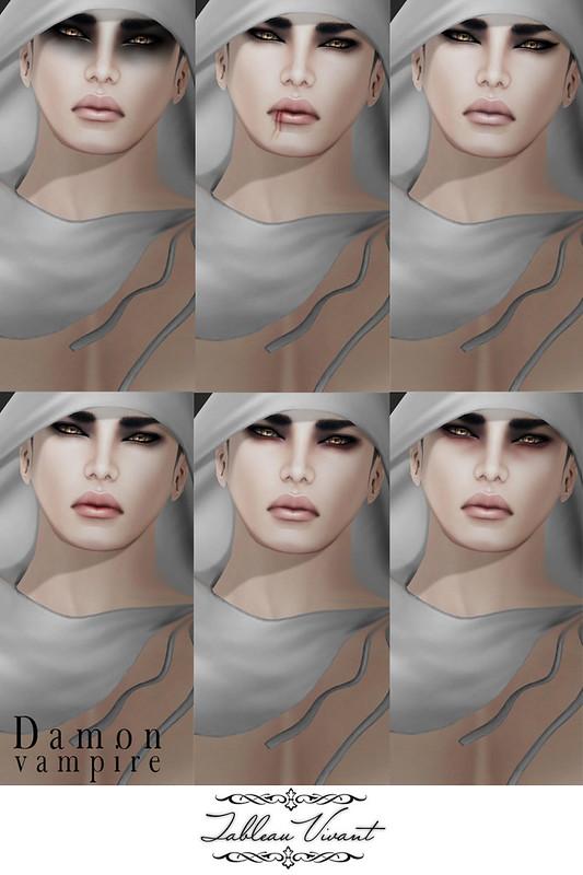 ~Tableau Vivant~ Damon-Vampire-AD