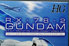 ANA RX-78-2 Gundam HG 144 G30th Limited Kit  OOTB Unboxing Review (6)