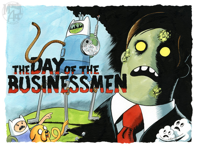 The Day of the Buiseness Man