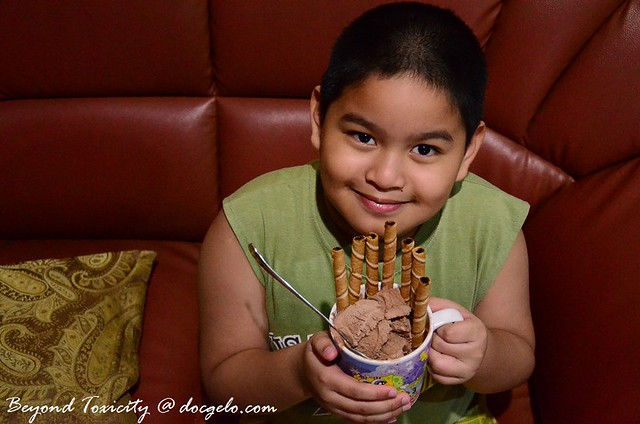 gabby and his chocolate ice cream, august 10, 2012
