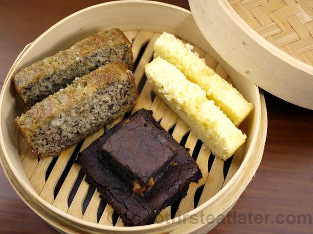 Maya Butter Cake, Banana Cake & Fudge Brownie-003