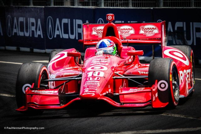Dario Franchitti (Turn 3, race day) by Paul Henman
