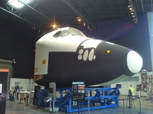Space Shuttle trainer assembly (1)