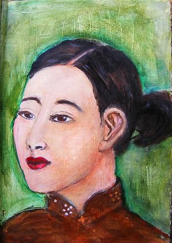 Georgette Chen Portrait