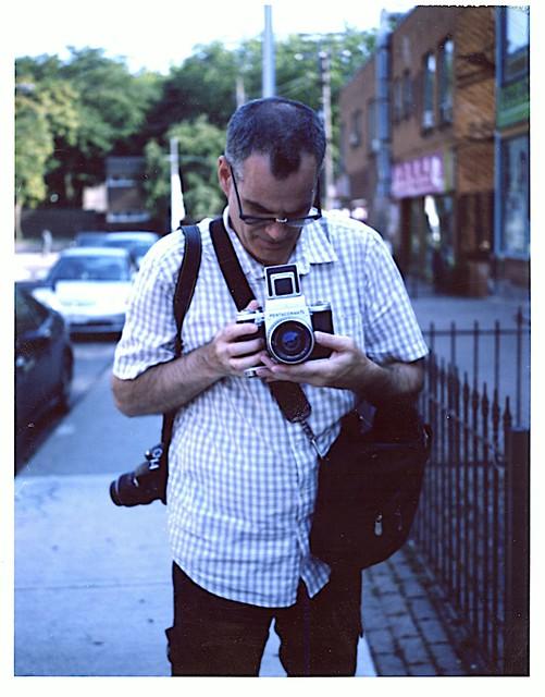 Another film Photographer in Kensington Market