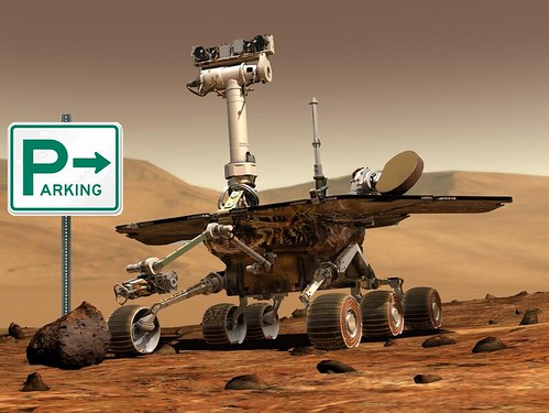 Rover Lands on Mars, Discovers Ample Parking