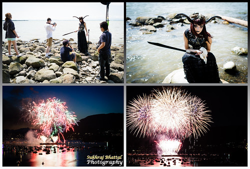 Day 575 - Behind the Scenes of an Editorial Photoshoot and Vietnam's Fireworks Display by SukhrajB