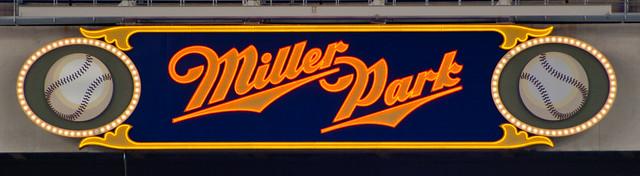 Miller Park marquee