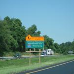 Stimulus-funded Roadwork