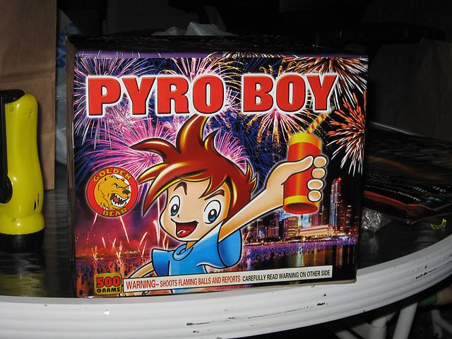 Pryo Boy