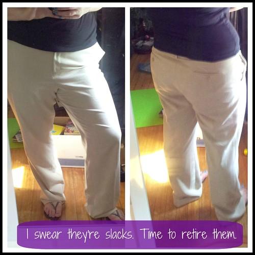 retire pants
