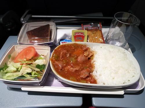 Auckland - Santiago: Dinner