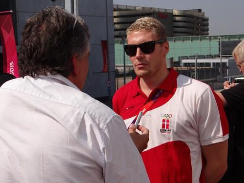 Pál interview í London