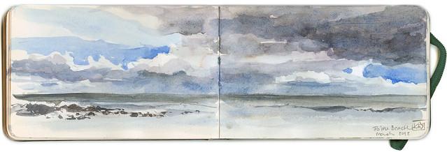 Sketchbook ~Poipu Beach 2