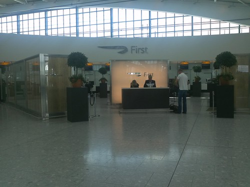 Dedicated First Class Check In
