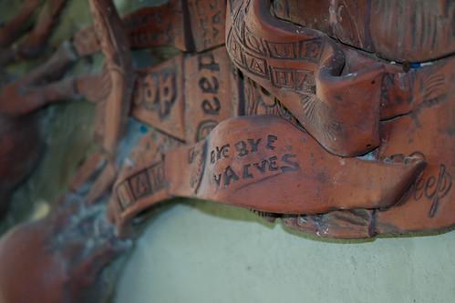 Bull Kelp Sculpture by Fran Benton detail 1