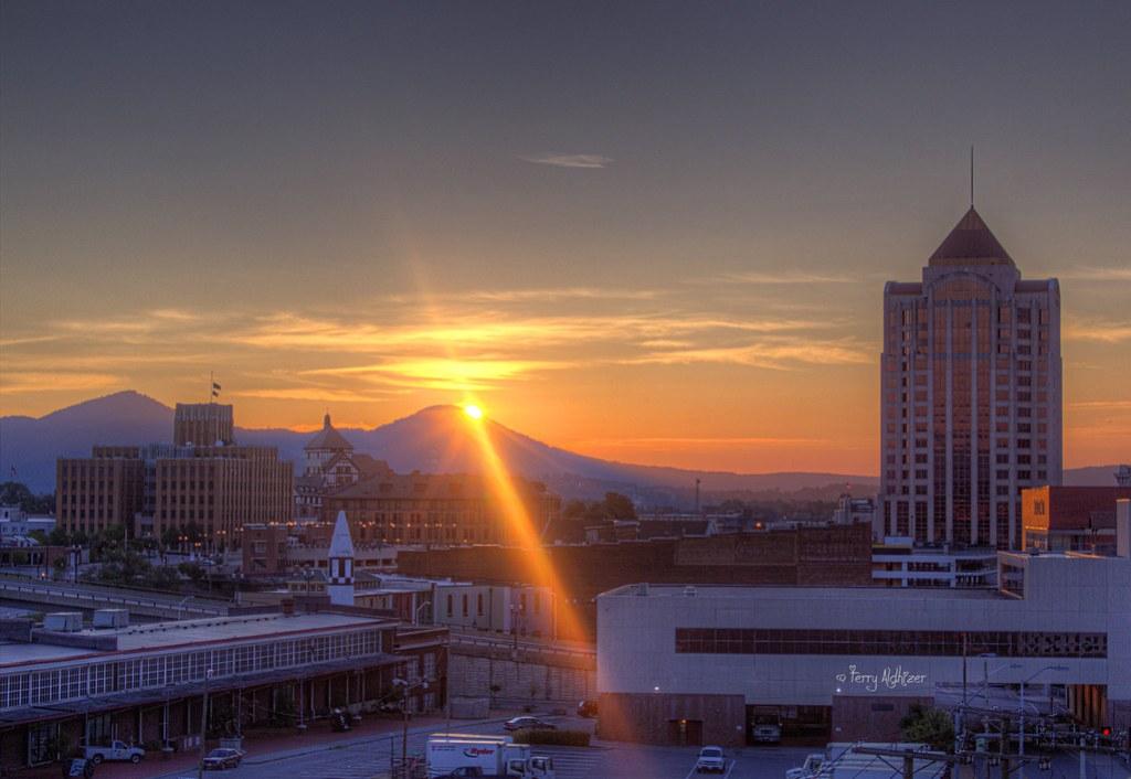 Sunday Morning Serenity Sunrise - Roanoke VA Photography Terry Aldhizer