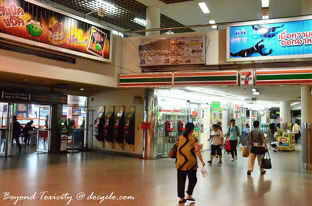 711 at the bus station