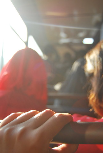 #7|Here I am on the bus