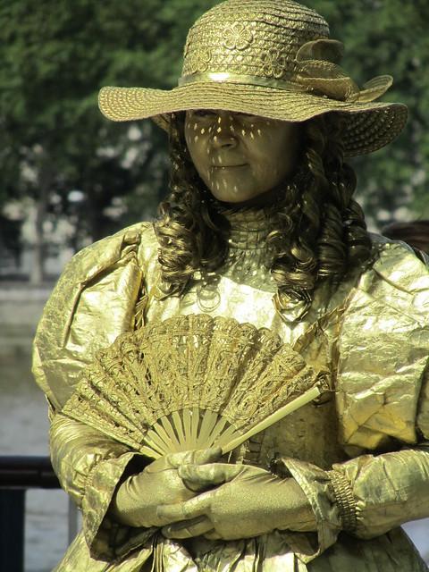 Gold Lady