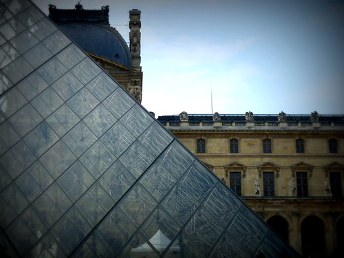 the louvre, paris, july 2012