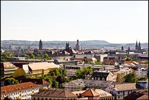 Türme der Dresdner Altstadt