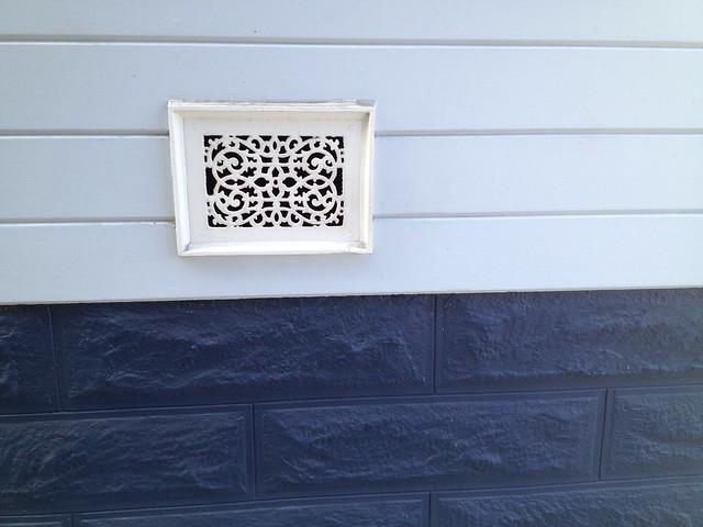 Random house vent, Noe Street