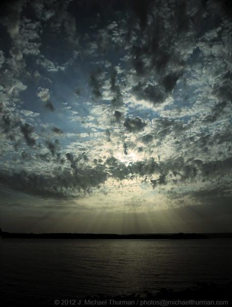 Morning at the Lake - July 3, 2012