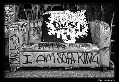 Sofa King.... What? by Dervish Images