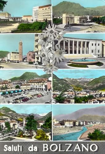 postcard - bolzano - 1962