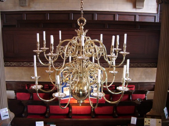 1735 Chandelier, Sir William Turners Almshouse