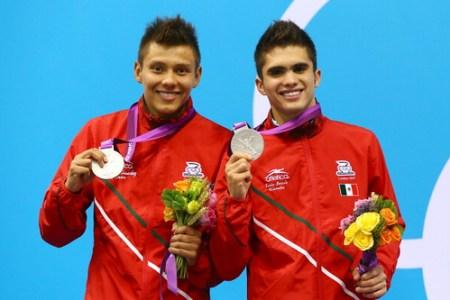 German Sanchez e Ivan Garcia ganan medalla de plata Londres 2012
