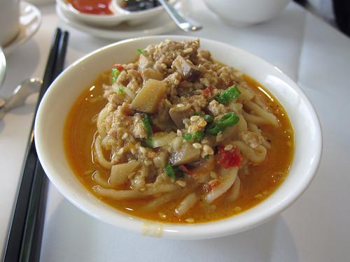 A Portion of Dan Dan Noodles