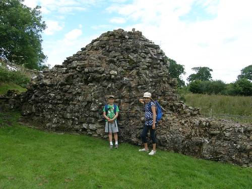Reconstructed wall at Hare Hill