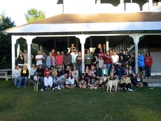 family reunion group photo
