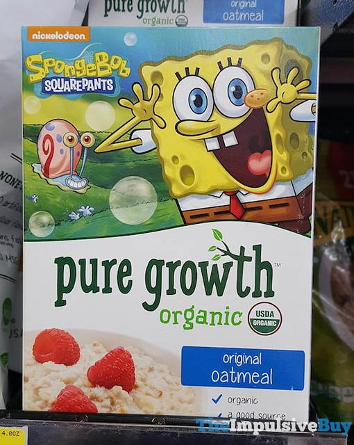 Pure Growth Organic Original Oatmeal
