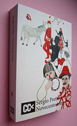 Sergio Pretto, Novecento Rom, CartaCanta 2012. Progetto grafico e logo: Oblique Studio, ill. di cop.: Sara Stefanini. Copertina (part.), 5