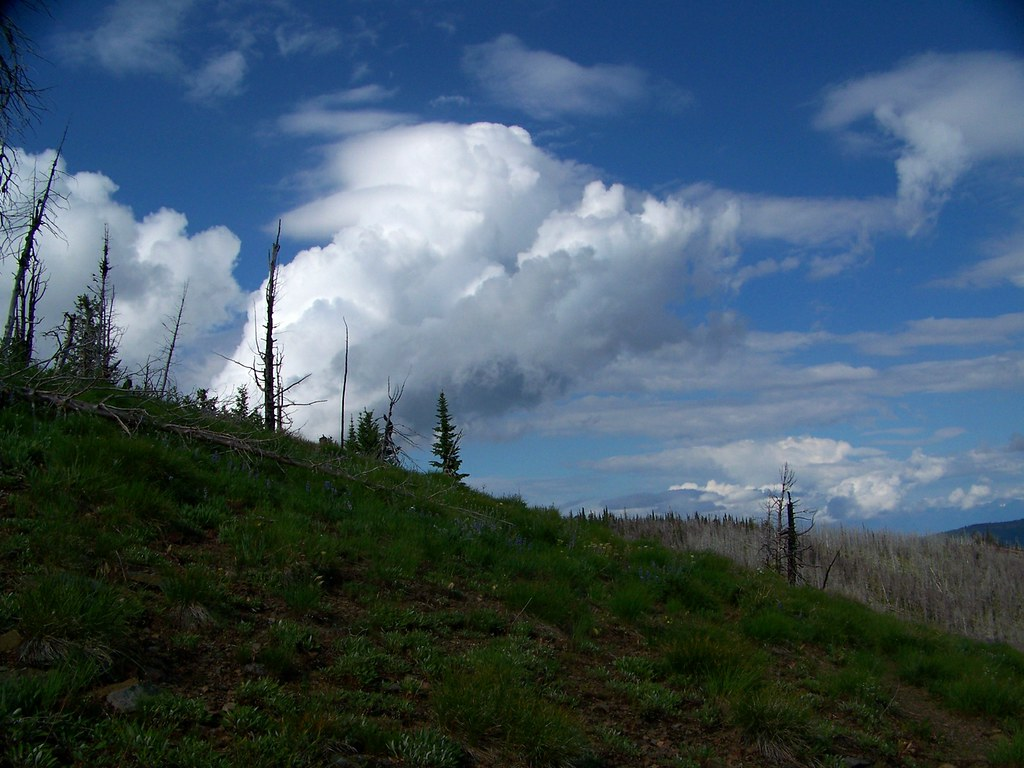 Clouds over the Divide