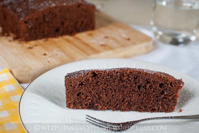 Jamie Oliver Extremely Naughty Chocolate Fudge Cake