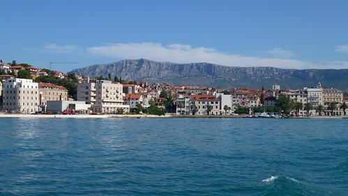 Split's seaside promenade (Riva)