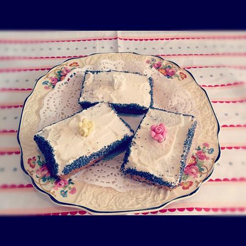 Lemon Poppyseed Mini Loaves