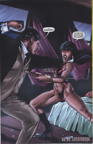Vampirella vs. Barnabus Collins