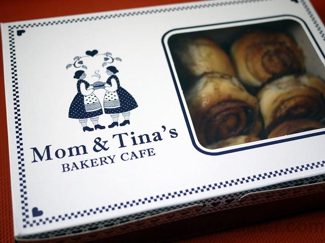 Mom & Tina's mini cinnamon rolls